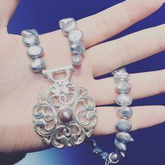木曽作家 淡水珍珠作品 充滿濃濃的古董感氛圍 是您值得細細品味的珠寶