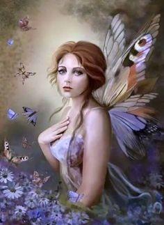 "how "" fairys "" lliv , butterfly/fairy Elfen Fantasy, 3d Fantasy, Fantasy Kunst, Fantasy World, Fantasy Art Angels, Fantasy Fairies, Fairy Dust, Fairy Land, Fairy Tales"