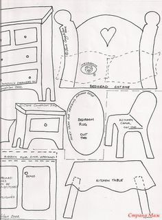 Кукольный домик от Jane Coughlan
