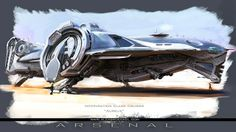 Futuristic Sci-Fi Spaceships Designs And Illustrations (Part 2 ...