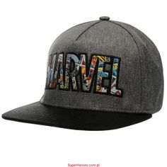 7baef0d06d84ab Czapka z daszkiem Marvel - full cap. Fashion Hats ...