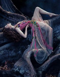 Alberta Ferretti silk dress, £5,880