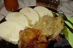Fotorecept: Kura na kyslej kapuste Pork, Food And Drink, Rice, Meat, Chicken, Anna, Gardening, Kale Stir Fry, Lawn And Garden