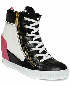 Betsey Johnson Lavitaa Wedge Sneakers