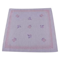 Set of 5 Children's Cotton Cartoon Bibs Baby Handkerchief Sweat Wash Towel