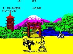 The Way of the Exploding Fist on ZX Spectrum (8 bit)