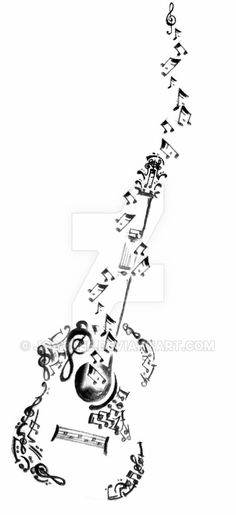 Image result for guitarist tattoo designs