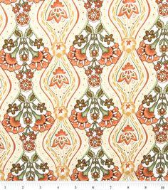 Keepsake Calico Fabric-Lazy Afternoon Ogee Nat