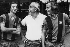 Cruyff, Weissweiler, and Neeskens