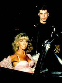 """Sandy & Danny"" (John Travolta and Olivia Newton John) I think this was for a one off show called Grease Day USA John Travolta, Marlon Brando, Susan Sarandon, Jack Nicholson, Preston, Sandy And Danny, Nova Jersey, Grease Is The Word, Grease Live"
