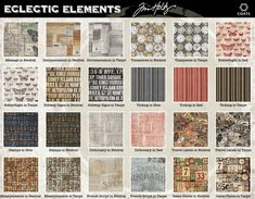 Eclectic Elements by Tim Holtz for Coats | Sew4Home