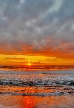 ~~Cambria Moonstone Beach | copper sunset, California by robbishopphotography~~