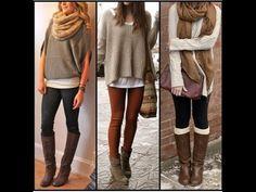 Ideas MAKTUB para combinar tus prendas tejidas. Invierno 2015