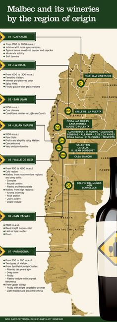 Malbec by region of origin « Winesur