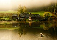 Steiermark, Austria Sunrise over the lake by Bernhard Klestil on 500px