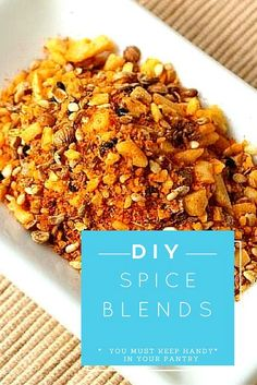 8 DIY Spice Blends You Must Have in Your Pantry