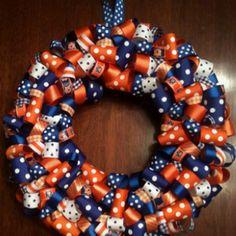 Auburn Ribbon Wreath