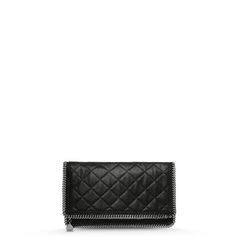 Stella McCartney - Falabella Quilted Fold Over Clutch - PE15 - f