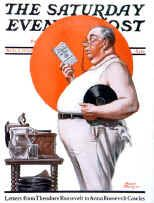 Sat Eve Post Cover  -  Aug 2 1924