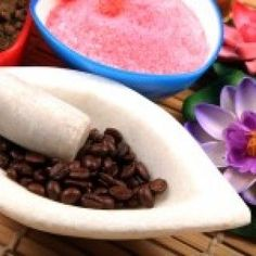 Coffee Exfoliator DIY Spa Cellulite Treatment....this works!! I have done this many times although my bathroom smelled like a coffee shop when I was done! Lol