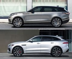 Range Rover Velar und Jaguar F-Tempo - Beste Luxus Autos Jaguar Suv, Jaguar Land Rover, Range Rover Car, Range Rover Supercharged, 4x4, Best Suv, Good Looking Cars, Classy Cars, Car Goals