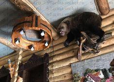 Смотрите больше фотографий в нашем альбоме, как мы сделали дизайн для охотничьего домика 🐻🐗