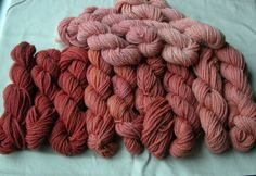 dyeing with mushroooms