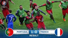 The final whistle goes. Portugal are #EURO2016 champions!