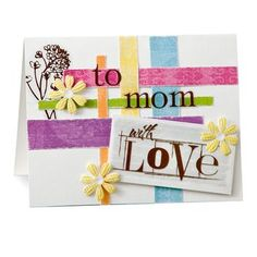Creative Memories Mother's Day Card