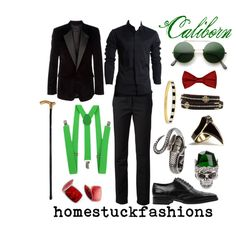 Caliborn by hollowzo on Polyvore featuring мода, Marc Jacobs, 3.1 Phillip Lim, Alexander McQueen, DJ By Dominic Jones, Nicole Miller, Kate Spade, Smith Street, Canali and Prom