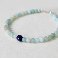$19.3 SKU: 607376 #MrTree #Jewelry #JewelryDIY #Bracelets --- Materials:Amazonite + S925 / Size:Length:17CM http://www.pinterest.com/boutiques  - keywords: bead, beads, do it yourself jewelry, designer jewelry,