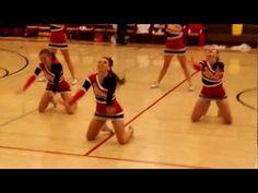 Oakdale High School Mustangs Varsity Cheerleaders Halftime - YouTube Cheerleading Tryouts, Cheerleading Videos, Cheerleading Quotes, Cheer Coaches, Cheer Stunts, Cheerleader Dance, Cheer Jumps, High School Cheerleading, Team Cheer