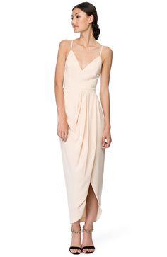 Cocktail draped maxi dress, from Shona Joy, found on The Iconic - $280.00
