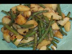 Potato and Green Bean Dish - YouTube