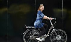 Sarah Philips tries the new electric-powered Sparta RX Plus e-bike.