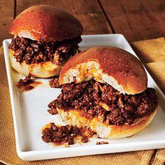 Beef and Mushroom Sloppy Joes | CookingLight.com