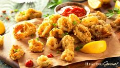 Enjoy this quick and easy recipe for Oven-Baked Calamari Rings. It's delicious and it's Mindful! Baked Calamari Recipe, Deep Fried Calamari, Calamari Recipes, Squid Recipes, Pressure Cooker Pot Roast, Healthy Cooking, Healthy Recipes, Common Spices, Restaurant Recipes
