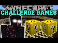 Minecraft: MUTANT OBSIDIAN GOLEM CHALLENGE GAMES - Lucky Block Mod - Modded Mini-Game - YouTube