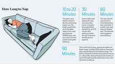 Just in time for midterms - How Long To Nap For The Biggest Brain Benefits