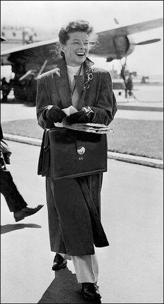 Katharine Hepburn - Classic Style Icons For Fall | POPSUGAR Fashion Photo 1