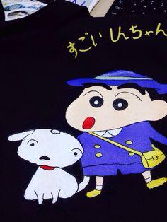 Crayon Shinchan tote bag