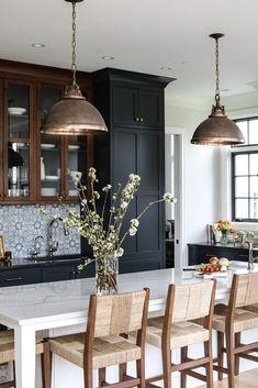 New Kitchen, Kitchen Decor, Interior Design Kitchen, Decoration Inspiration, Beautiful Kitchens, Home Kitchens, Kitchen Remodel, Sweet Home, New Homes