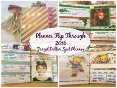 Planner Flip Through | March - August 2016 | Target Dollar Spot