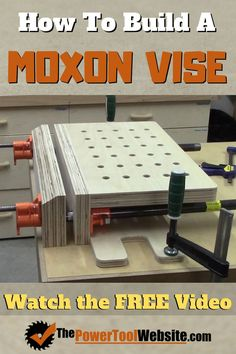 The Moxon Vise is a great project that only takes a couple hours build and will provide years of functional practical uses in a wood shop. Perfect for dovetailing edge banding edge planing spoke shaving and more! Awesome Woodworking Ideas, Best Woodworking Tools, Woodworking Supplies, Easy Woodworking Projects, Woodworking Furniture, Diy Furniture, Woodworking Bandsaw, Bandsaw Box, Woodworking Quotes