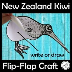 A fun kiwi bird template that can be used for a wide variety of learning activities. Write or draw whatever you wish on the body 'flaps'. Add as many flaps as you'd like. Two Options: ♦ Kiwi - on paper with a border. Staple the flaps to the body. Kids Learning Activities, Student Learning, Fun Learning, Teaching Kids, Bird Template, Kiwi Bird, Kiwiana, Bird Crafts, Classroom Environment