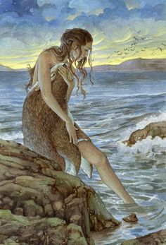 Here at Scotweb, we're looking at Scottish myths, legends and folk tales. For this week's Folklore Friday, we look at The Selkie Magical Creatures, Fantasy Creatures, Strange Creatures, Art Magique, Creation Photo, Legends And Myths, Celtic Mythology, 5 Anime, Mermaids And Mermen