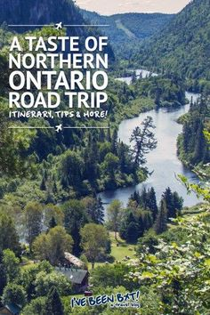 A road trip through northern Ontario, one of the best ways to travel Canada. Alberta Canada, Canada Ontario, Ontario Parks, Quebec, Places To Travel, Travel Destinations, Places To Visit, Travel Tips, Budget Travel
