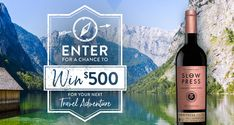 Ends 4/30 (Daily) - Enter for a Chance to Win $500 for Your Next Travel Adventure