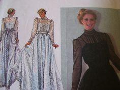 Wedding dress Pattern Simplicity 9585 Gunne Sax by grcollects, $3.00
