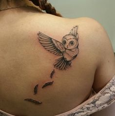 owl tattoo #Ink #youqueen #girly #tattoos #owl                                                                                                                                                                                 More